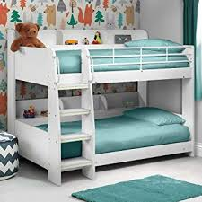 cool bunk beds for adults. Plain For Happy Beds Domino White Finished Sleep Station Childrens Kids Bunk Bed  Frame 3u0027 Single Throughout Cool For Adults E