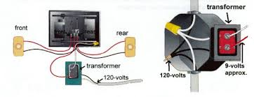 doorbell house wiring diagrams just another wiring diagram blog • basic house wiring diagram for phones doorbells and speakers rh make my own house com doorbell transformer wiring diagram old doorbell wiring diagrams