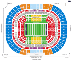 Los Angeles Rams Stadium Seating Chart Bedowntowndaytona Com