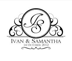 wedding designs. Custom Wedding Logo Design Our Wedding Pinterest Wedding logo