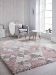 quick view dakari nuru pink cream grey rugs by flair