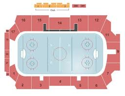 Goggin Ice Arena Tickets And Goggin Ice Arena Seating Chart