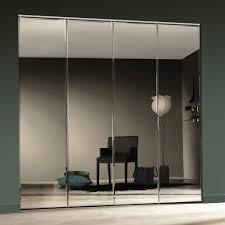 image mirrored closet door. White Beveled Mirrored Bifold Closet Doors Image Door I