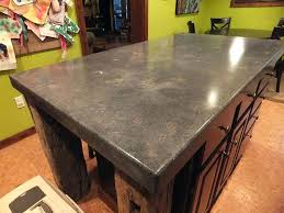 great stained concrete countertops