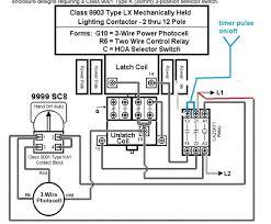 wiring diagram lighting contactor wiring diagram with photocell 3 Pole Contactor Wiring Diagram at Square D Lighting Contactor Wiring