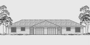 2 bedroom 2 bath house plans with garage. d-484 one story duplex house plans, 2 bedroom plans bath with garage