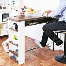 counter table table bar stools work units work table bar tables cute fashionable cute nordic natural wood tone face to face wall kitchen living room
