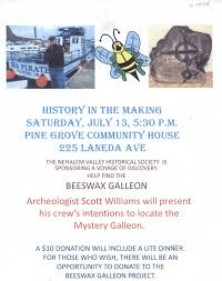 Making Flyer Online History In The Making Flyer Nehalem Valley Historical Society
