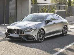 The cla 45 amg edition 1 features the night package, red accents on the radiator grille and exterior mirrors, and amg sports stripes in matt graphite grey above the side sill panels. 2020 Mercedes Benz Amg Cla 45 Exterior Paint Colors And Interior Trim Colors Autobytel Com