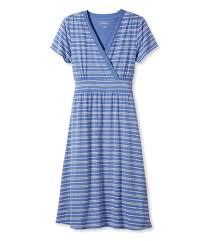<b>Women's Summer</b> Knit Dress, <b>Short</b>-<b>Sleeve</b> Pebble Stripe Print