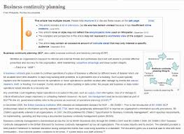 020 Of Sample Business Continuity Plan Disaster Recovery
