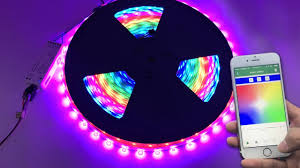 DC24V <b>20m</b>/<b>65.6ft</b> Addressable Color Chasing Waterproof LED ...