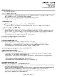 Assistant Project Manager Resume Job Description Assistant Project Coordinator Sample Resume Podarki Co