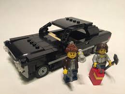 Lego Supernatural 1967 Chevy Impala 'Baby' | Saving people, … | Flickr