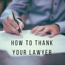You Letter How To Write A Thank You Letter To A Lawyer Holidappy