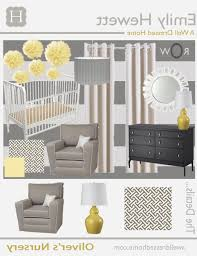baby nursery yellow grey gender neutral. Baby Nursery : Ba Oliver39s Revealed A Well Dressed Home Pertaining To Elegant Grey Yellow Gender Neutral I
