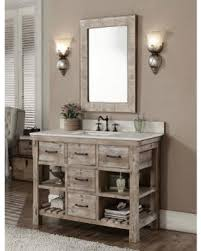 48 inch vanity with sink. Infurniture Rustic Style Single Sink Bathroom Vanity And Matching Wall Mirror 48 Intended Inch With