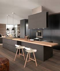 Different Types Of Kitchen Flooring Contemporary Kitchen 36 Stunning Black Kitchens Design