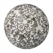 Black And White Decorative Ceramic Balls Home Decor Home Decor NAVAH BlackWhite Ceramic Decorative Ball 2