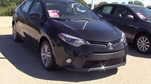 2014 Toyota Corolla LE Black - YouTube