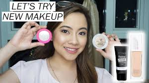 testing out new makeup maybelline vice cosmetics eb advance etc
