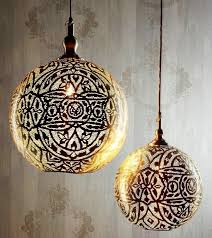 gallery of moroccan pendant lighting with moroccan hanging lamp pierced brass pendant 2