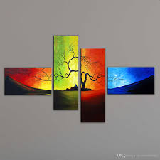 artwork is typically shipped within 3 business days by 4 piece canvas art modern paintings on wall on 4 piece wall artwork with 2018 unstretched modern living room wall decor canvas abstract