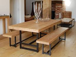butcher block dining table. Modern Butcher Block Dining Table Room Home Decor Furniture In