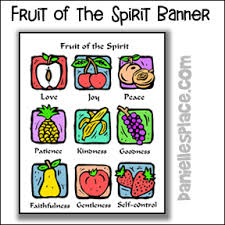 Fruit Of The Spirit Bible Crafts And Bible Games For Sunday