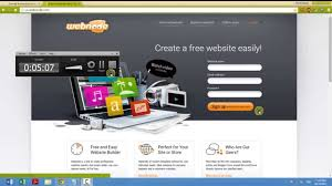 make a free website online easy how to create free website in 10 min with webnode youtube