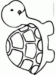 Small Picture Coloring Pages Turtle Cartoon Drawing Drawings Easy Maxvision