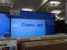 tv 90 inch. sharp 90 inch lc-90le745u tv costco tv e