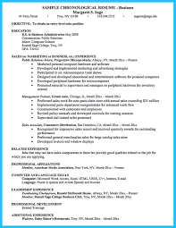 Resume Objective For Business Administration Appealing Formula For Wonderful Business Administration Resume 16