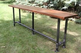 Industrial Pub Table Sets Bar Height Table Etsy