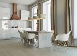White Kitchen Wooden Floor White Floor Kitchens Nice Home Design
