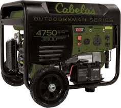 Cabela's Outdoorsman 3800/4750-Watt <b>Remote Start Generator</b> ...