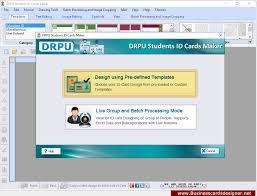 Designer Designs Software Student Multiple Id Cards Card