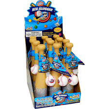big slugger bat with gum 12 pk
