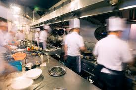 busy restaurant kitchen. Busy Restaurant Kitchen