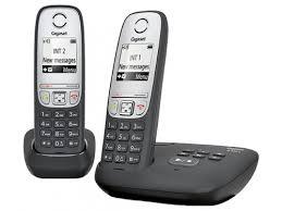 Купить <b>радиотелефон Gigaset A415</b> AM <b>DUO</b> Чёрный по цене от ...