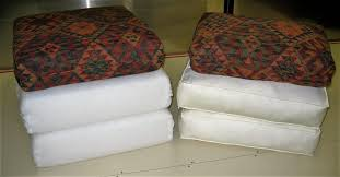 these cushions are a much firmer option and require occasional turning to keep them looking good they may lose some of their initial density as with any