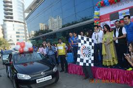 10th edition of the blind man car rally an annual initiative by round table india rti