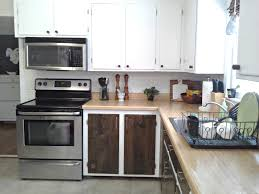 White Kitchen Cabinet Makeover Lillys Home Designs Kitchen Cabinet Makeover Reveal
