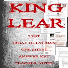 King Lear Bundle By Linda Jennifer Teachers Pay Teachers