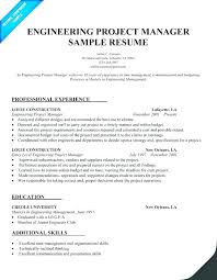 project management skills resume samples best cool engineering project manager resume sample free career home