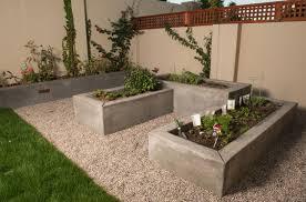 garden concrete planters