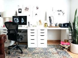 two desk office. Double Desk Home Office Best Ideas On Room Regarding New . Two C