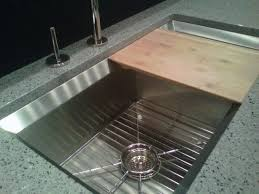 kraus kitchen sinks kohler stainless steel sink with sliding bamboo kohler sink cutting board