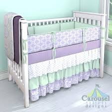 purple baby bedding sets purple and gray baby bedding sets