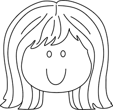 Small Picture coloring pages of little girls face and hair www